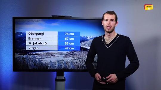 Počasie: Príde teplejší vzduch, front aj vlhkosť. Kde ostane sneh?