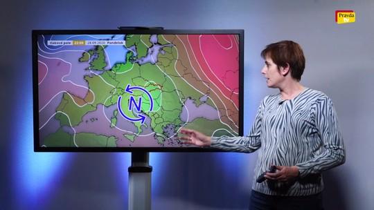 Predpoveď počasia - video