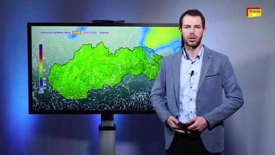 Na Slovensko sa valí nebezpečný studený front. Prinesie čerstvý sneh?